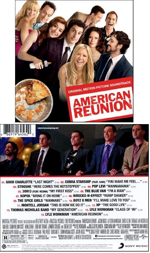 American Reunion Soundtrack Details Soundtrackcollector Com