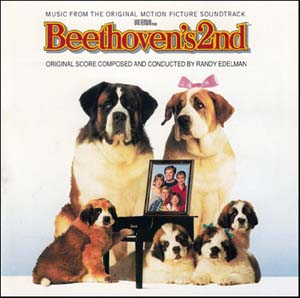 beethovens 2nd soundtrack details soundtrackcollectorcom