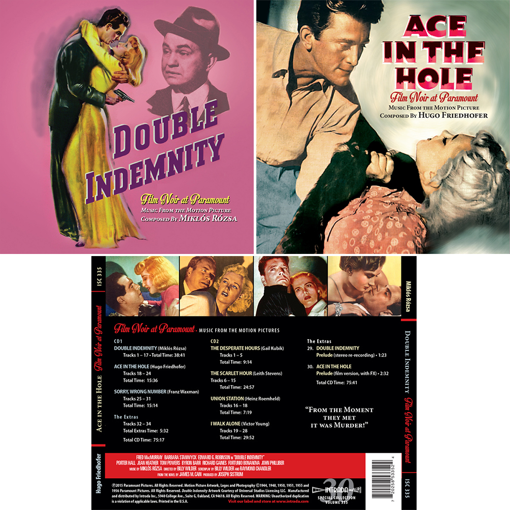 Double wedding soundtrack - Intrada Special Collection Isc 335
