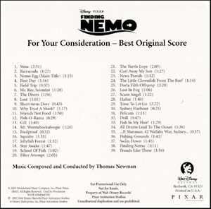 Finding Nemo Soundtrack Ebay