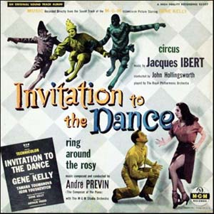 Invitation to the dance soundtrack details soundtrackcollector mgm records e 3207 stopboris Images