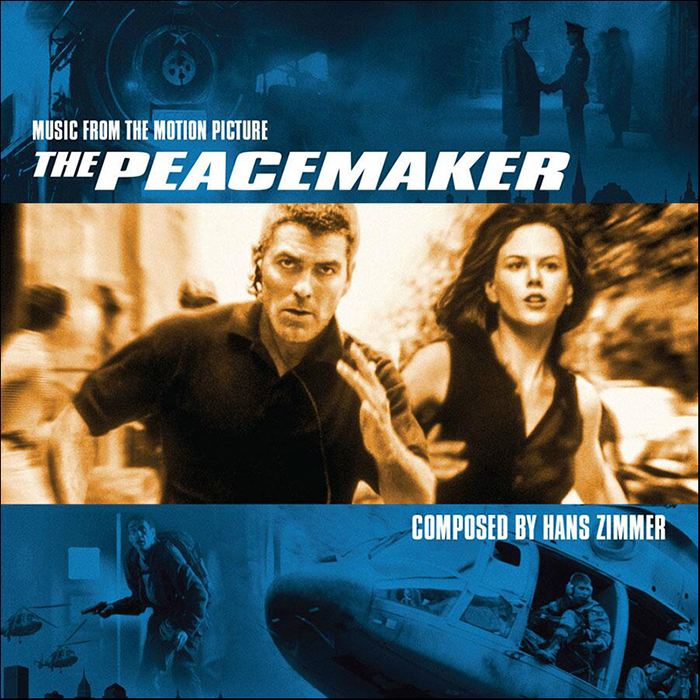 Peacemaker the soundtrack details for Zimmer soundtrack