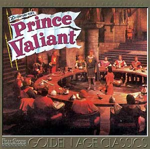 Prince Valiant (1954 film) Prince Valiant Soundtrack details SoundtrackCollectorcom