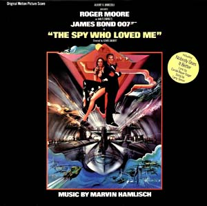 Spy Who Loved Me, The- Soundtrack details ...The Spy Who Loved Me Soundtrack Carly Simon