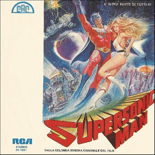 Natura / Carlos Attias - Supersonic Man / On My Way