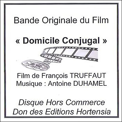 Antoine Duhamel - Bandes Originales Des Films De Jean-Luc Godard