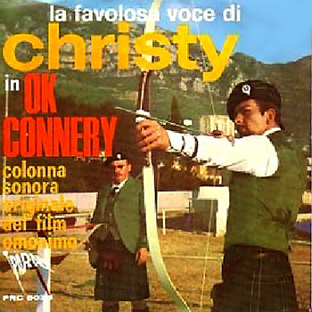 Christy 2 Bruno Nicolai Man For Me Connery Congiura