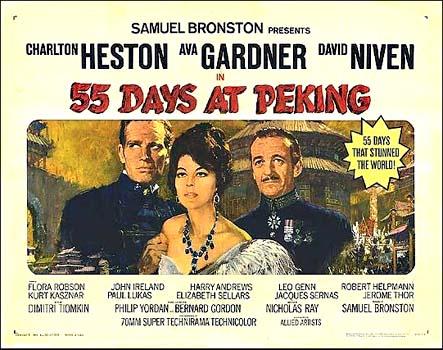 55 days at peking soundtrack details