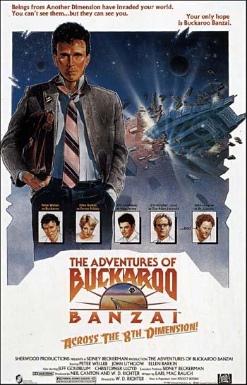 Adventures Of Buckaroo Banzai Across The 8th Dimension