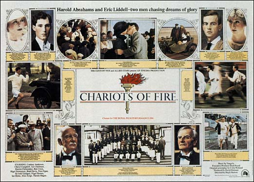 Chariots Of Fire- Soundtrack details - SoundtrackCollector.com