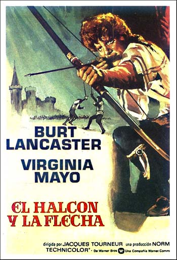 The Flame And The Arrow Burt Lancaster Virginia Mayo Robert Douglas Movie free download HD 720p