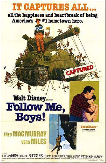 Follow Me, Boys- Soundtrack Details