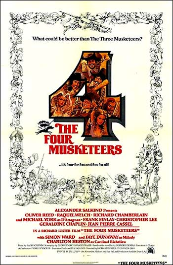 search ebay for four musketeers the four musketeers the 1974The Four Musketeers 1974