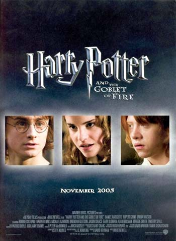 of fire harry potter and the goblet of fire 2005The Goblet Of Fire 2005