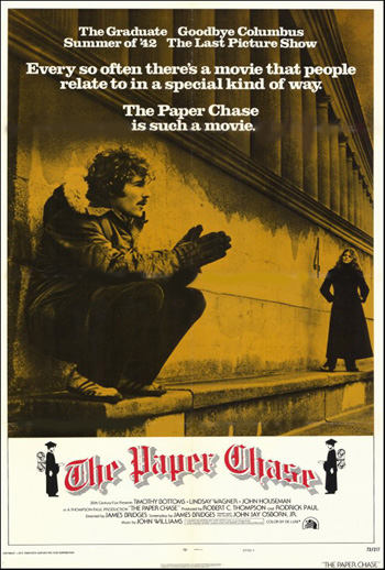Paper Chase, The- Soundtrack details - SoundtrackCollector.com