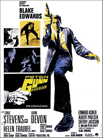 Image result for Gunn (1967) movie posters