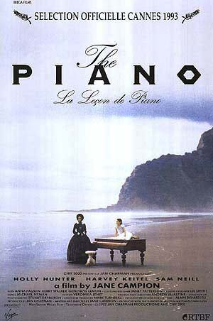Piano, The- Soundtrack details - SoundtrackCollector.com