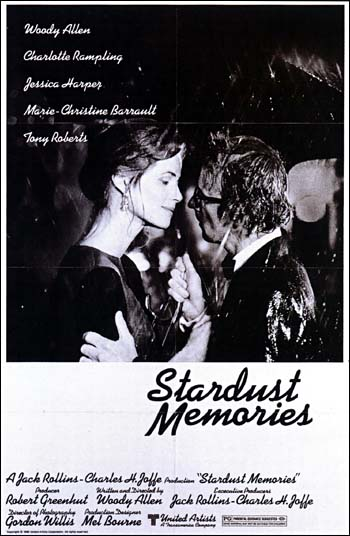 "analysis the movies about stardust memories Probably, but no matter he clearly intends ""stardust memories"" to be his ""8 1/2,"" and it develops as a portrait of the artist's complaints advertisement most of the action of the film centers around two subjects."