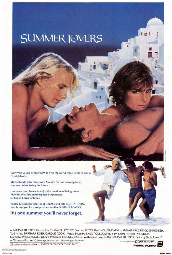 Retro ACTIVE Critiques: Summer Lovers (1982)  |Summer Lovers 1986