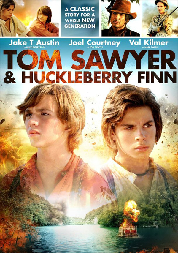 tom and huckleberry finn